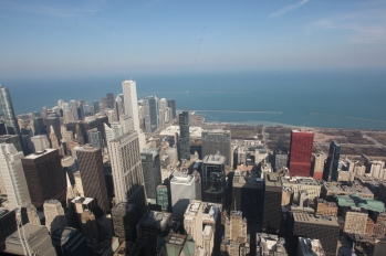 View from Willis Tower Skydeck