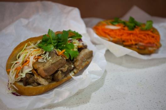 Pork Belly Bánh Mì Sandwich