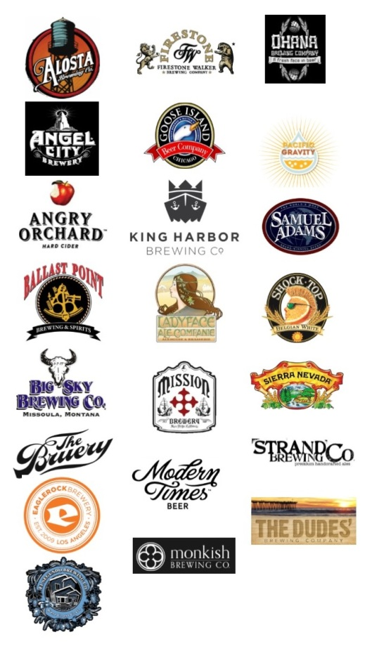 Participating breweries