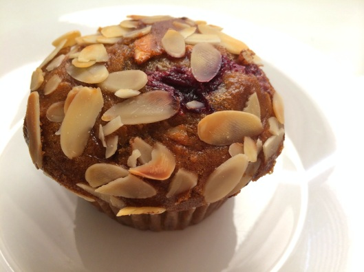 Cherry Almond Muffin